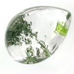 نگین در منظره ای درشت با طرح طبیعت سبز _کد:12206