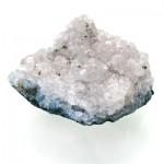 سنگ آمتیست سفید درشت و خوشرنگ سنگ درمانی _کد:12389
