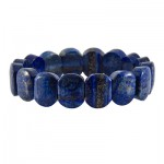 دستبند لاجورد عالی سنگ درمانی آرامش بخش _کد:12730
