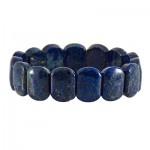 دستبند لاجورد عالی سنگ درمانی تقویت اعصاب _کد:12749