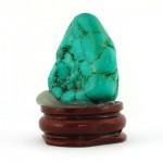 سنگ فیروزه هیمالیا دکوری سنگ درمانی _کد:12874