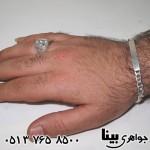 دستبند نقره نامزدي