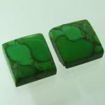 نگین فیروزه پیریتی سبز هندوستان