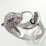 انگشتر نقره زنانه برندcartier