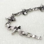 دستبند طرح استیل فروهر