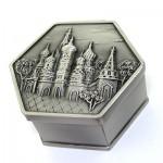 جعبه جواهر فلزی مدل silver کرملین _کد:8111