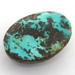 نگین فیروزه نیشابوری مناسب سنگ درمانی _کد:8628
