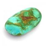 نگین فیروزه نیشابوری مناسب سنگ درمانی _کد:8649