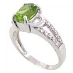 انگشتر زبرجد عالی زنانه رادیوم لوکس _کد:8908