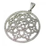 گردنبند نقره میکروستینگ درجه یک درشت سلطنتی زنانه _کد:9547