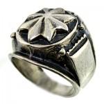 انگشتر نقره مردانه درشت پهلوانی _کد:9778