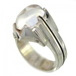 انگشتر در نجف مردانه کلاسیک شیاردار _کد:9954