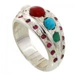 انگشتر چند جواهر مرغوب مردانه درشت سنتی _کد:10747