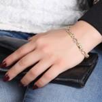 دستبند زبرجد زنانه مانی ایتالیایی _کد:1595