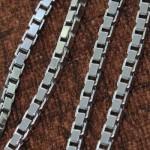 زنجیر نقره ایتالیایی ضخیم 50 سانتی _کد:11195