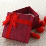 جعبه جواهر پاپیونی قرمز _کد:11287