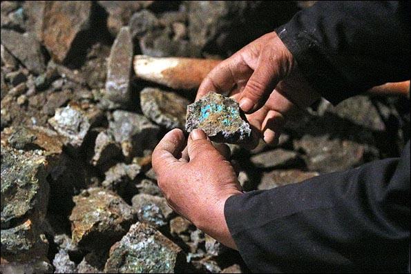 معدن فیروزه