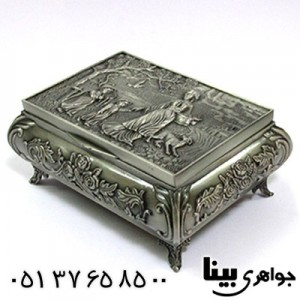 جعبه جواهر فلزی