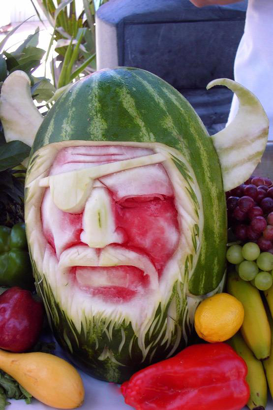 watermelon-viking-sculpture-art