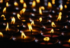 Candles at Jokhang Temple