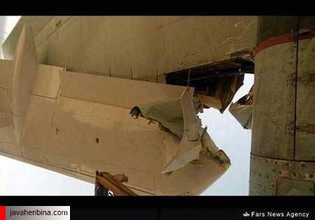 برخورد هواپیما فرودگاه مهرآباد