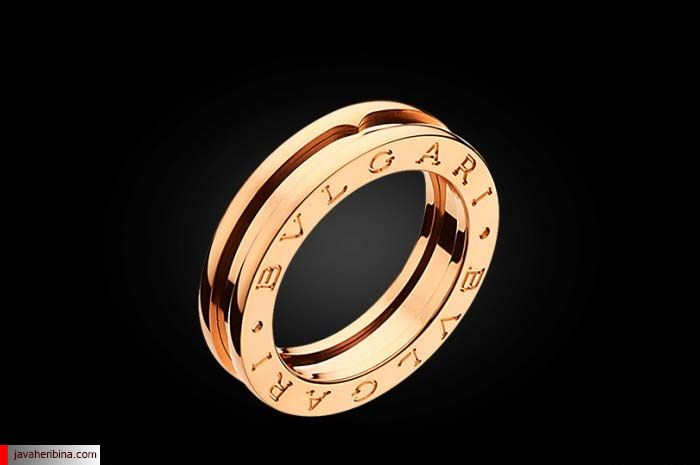 انگشتر طلا بولگاری