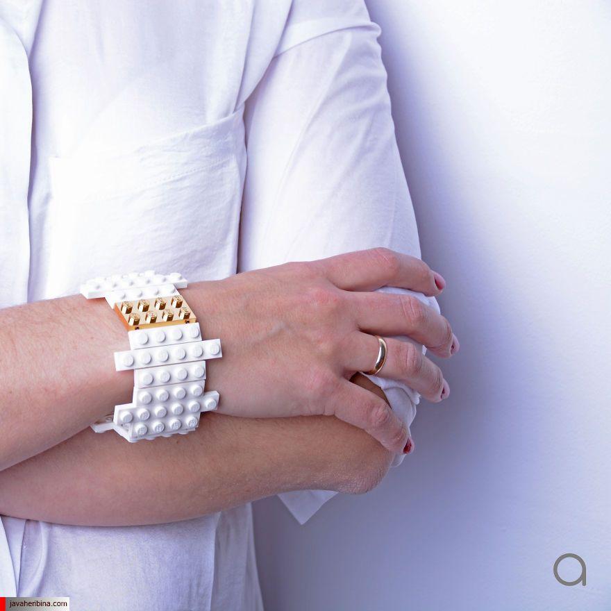 جواهرات و زیروآلات با طرح لگو