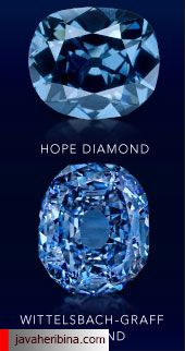 الماس آبی Wittelsbach