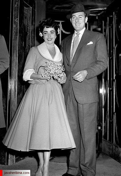الیزابت تیلور و مایکل وایلدینگ