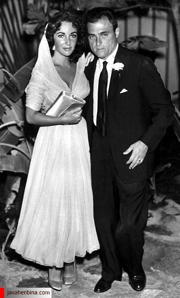 الیزابت تیلور و مایک تاد