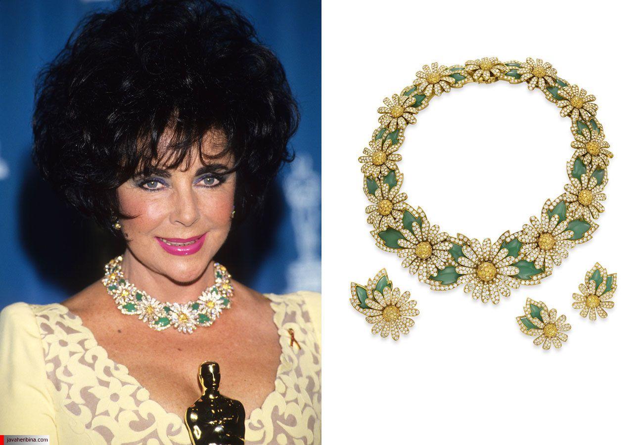 جواهرات الیزابت تیلور