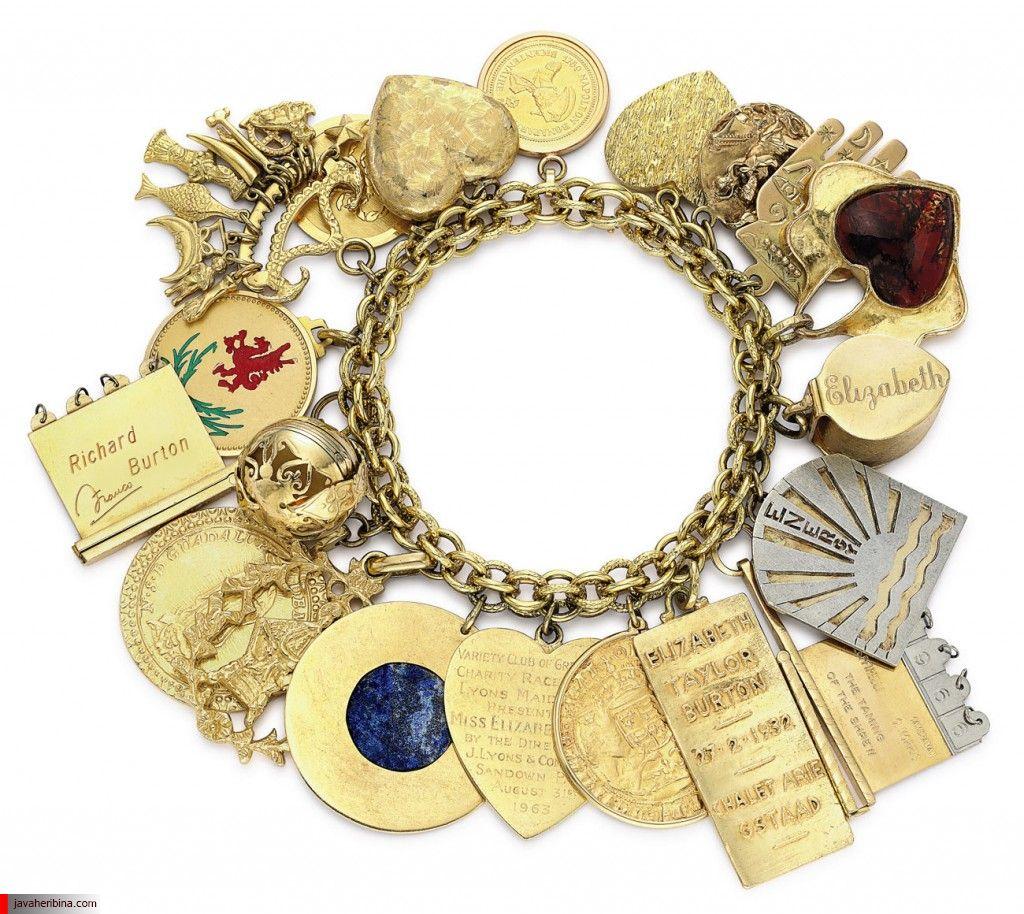 دستبند جواهر هدیه ریچارد بارتون