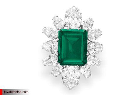 الماس و زمرد