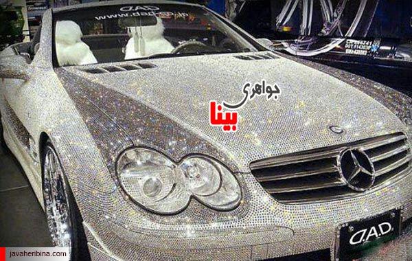 خودرو شاهزاده عربستان با تزیین الماس