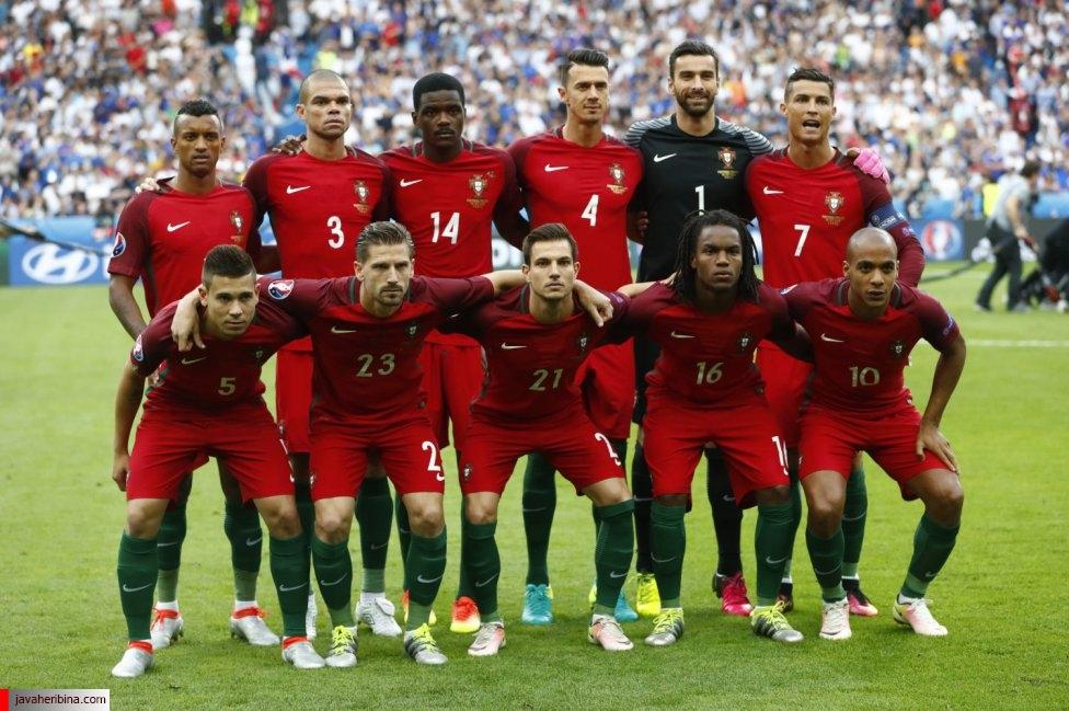 فینال یورو فرانسه و پرتغال