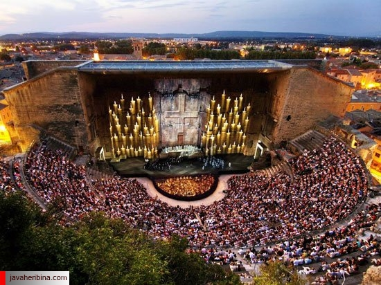 ۱۴ سالن کنسرت فضای باز در دنیا
