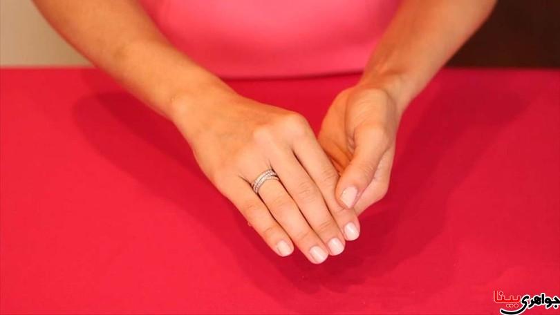 انگشتر گیرکرده در انگشت را به سادگی درآورید