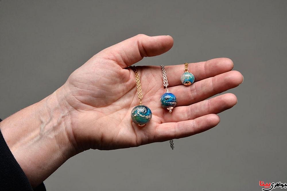 جواهرات ساخته شده از خاکستر انسان