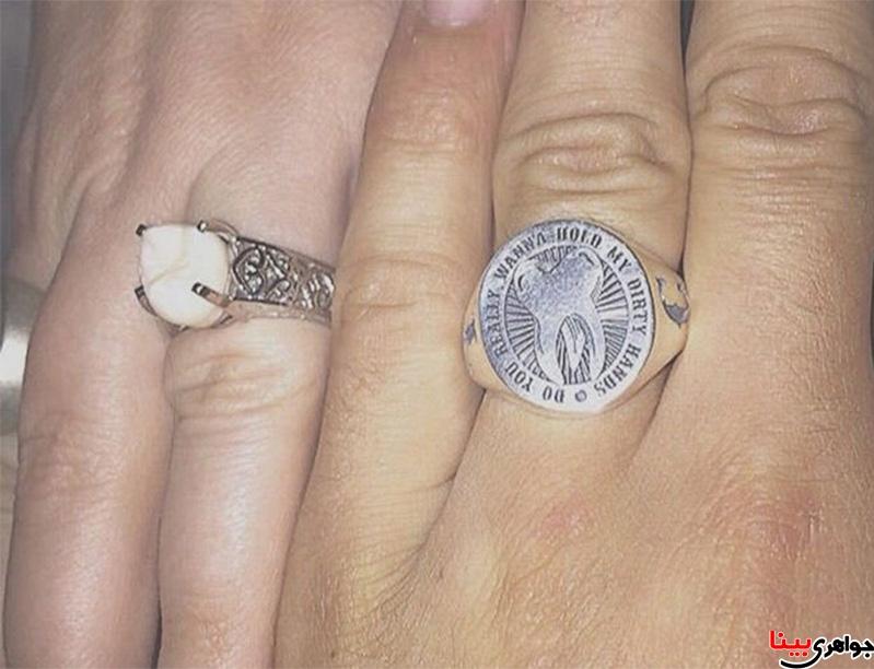 عجیب ترین حلقه ازدواج
