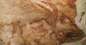 کشف قدیمیترین نقاشی سنگی انسان