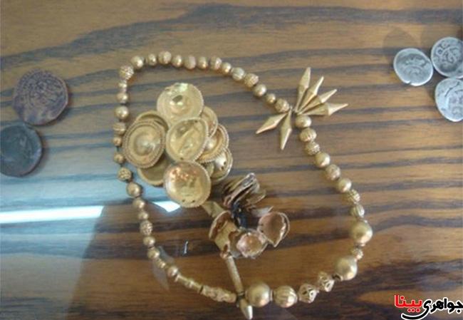 جواهرات عتیقه دوران ساسانی