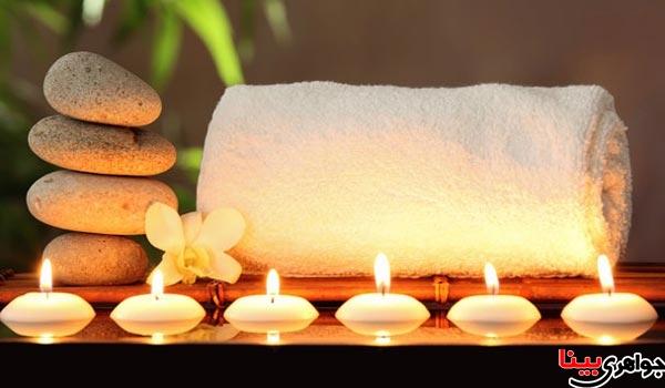 ماساژ درمانی با سنگ داغ