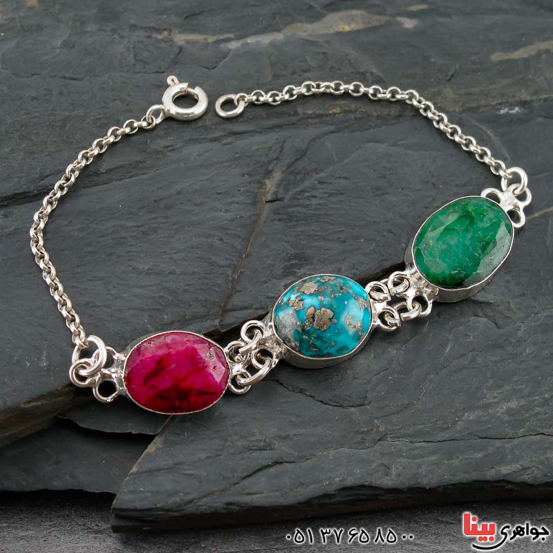 دستبند های چندجواهر بسیار خاص