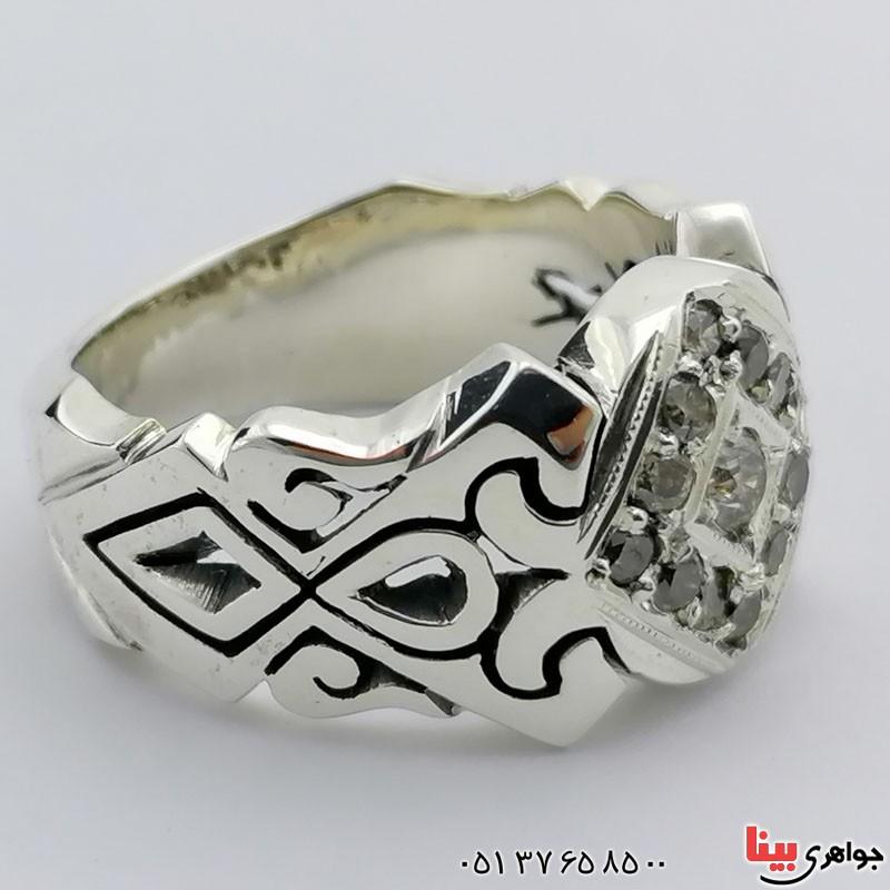 انگشتر های الماس مردانه بسیار عالی