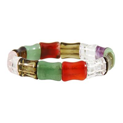 دستبند چند جواهر سنگ درمانی